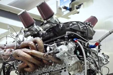 ¡Está vivo! Así suena el motor V12 del T.50 de Gordon Murray en banco de pruebas, y promete ser extremadamente rápido