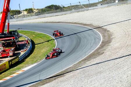 Leclerc Sainz Zandvoort F1 2021