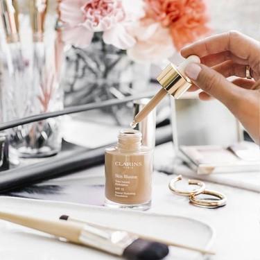 El maquillaje Skin Illusion de Clarins y otras siete bases ideales para pieles secas