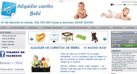 Alquiler Carrito Bebé, una idea para padres en apuros