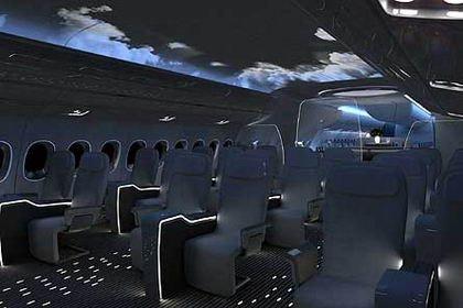 Interior Avión BMW