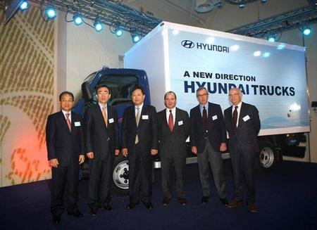 Hyundai prepara el asalto a Europa de sus camiones y autobuses