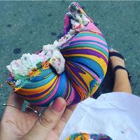 TrendInFood: bagels arcoiris que te sacarán una sonrisa