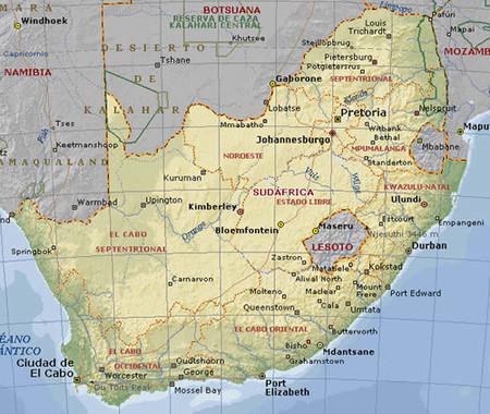 Si viajas a Sudáfrica: ¡ cuidado !
