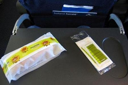 Comida KLM