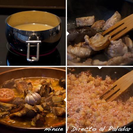 arroz al horno - elaboración