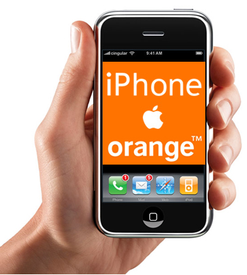 ¿Orange está ofreciendo el iPhone 3G en Francia?