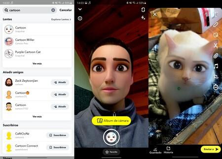 Snapchat Dibujo Animado