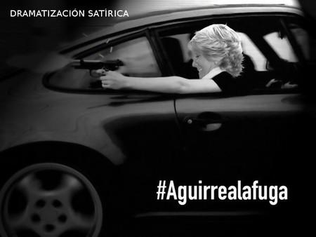 Aguirre a la fuga