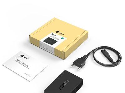 Cargador USB de 5 puertos Aukey por 10 euros en Amazon