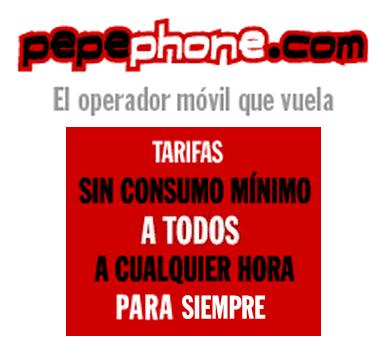 Pepephone deja de promocionar la tarifa de 6 céntimos/minuto para aplicarla a todos los contratos