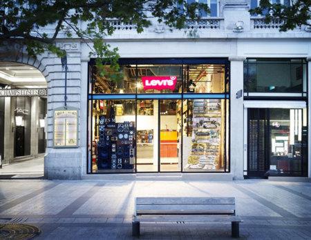 Tienda Levis PArís