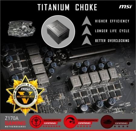 Msi Z170a Xpower Gaming Titanium Edition Titanium Chokes
