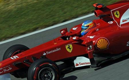GP de Canadá F1 2011: Fernando Alonso se queda con cara de tonto