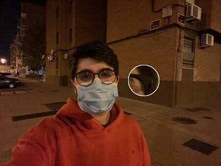 Selfie Noche Sin Modo Noche