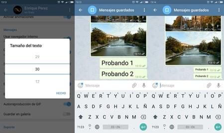 Telegram Texto
