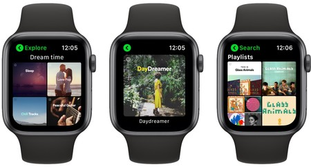 Mejor App Apple Watch Spotify