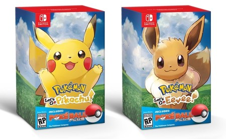 Pokemon Let S Go Pokeball Plus Bundle