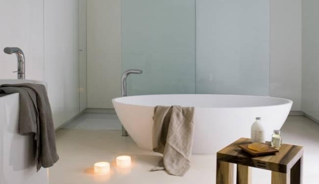 El estudio de arquitectura YLAB nos sugiere cuartos de baño integrados