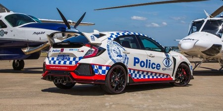 Honda Civic Type R Policia 2