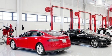 Consumer Report también encumbra a los talleres de reparación de Tesla Motors