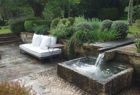 Jardines de paisajista, la decoración en el jardín