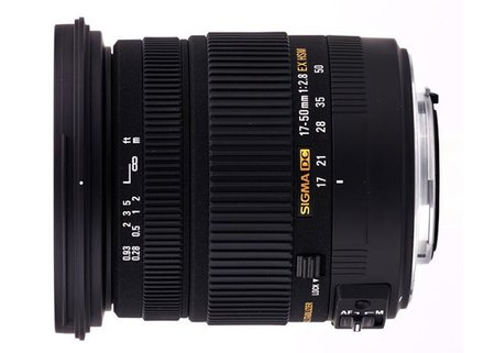 Sigma 17-50mm F2.8 EX DC OS HSM, disponible en breve