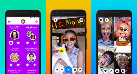 Messenger Kids ya disponible en Google Play, aunque solo en Estados Unidos