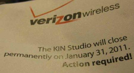 Microsoft Kin desaparecerá oficialmente