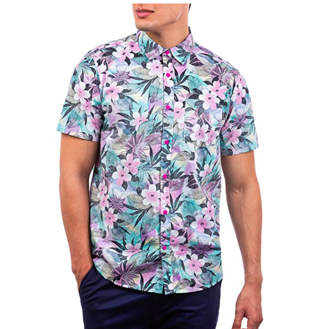 Camisa Hurley flores