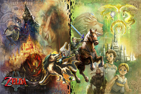 Vídeo de una hora de The Legend of Zelda: Twilight Princess HD