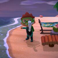 Animal Crossing: New Horizons: lista con todas las criaturas de la pesca submarina de octubre