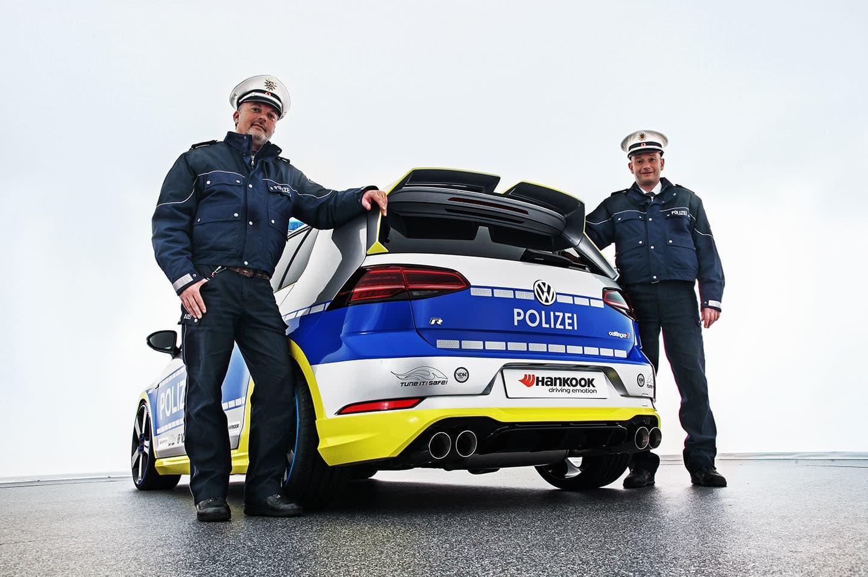 Foto de Polizei Golf creado por Oettinger y Hankook (2/13)