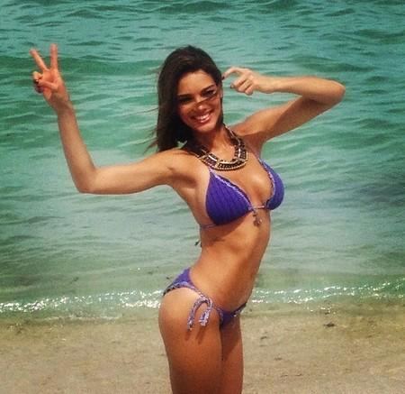 A Zuleyka Rivera la tenemos moreneando en nuestras playas casi antes de que llegue el sol