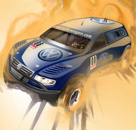 Volkswagen Touareg TDI Trophy Truck Concept para el Salón de Los Ángeles