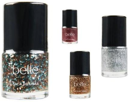 Belle & Make Up saca esmaltes especiales para Navidad ´All That Glitters´ ¡todo purpurina!