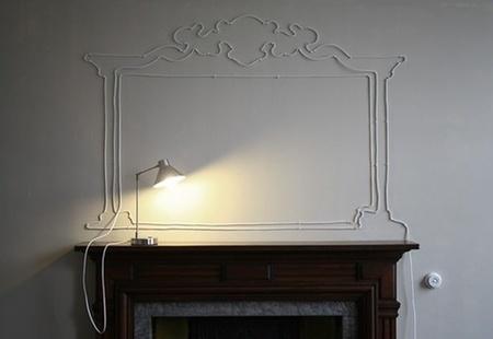Un cable decorativo.