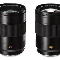 APO-Summicron-SL 75 y 90 mm f/2 ASPH, dos nuevas ópticas Leica diseñadas para sus cámaras sin espejo full frame del sistema SL