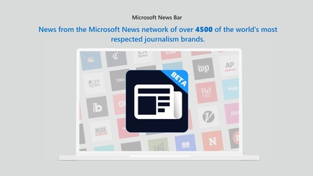 Microsoft News Bar 1