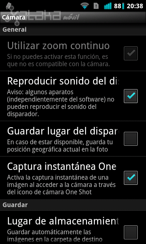 Foto de Camera MX de Magix para Android en imágenes (17/20)