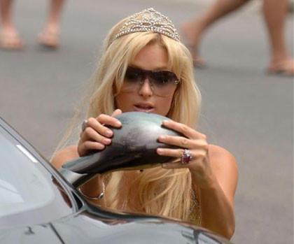 Paris Hilton, enésimo problema con su coche