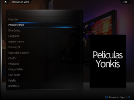 XBMC para Ipad: mediacenter, tv y pelis en streaming
