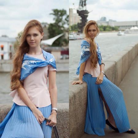 falda Pastel Look
