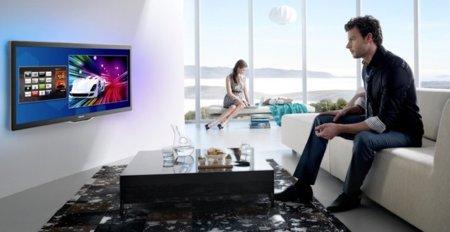 Philips, Sharp y Loewe quieren un acceso a Internet común en sus televisores