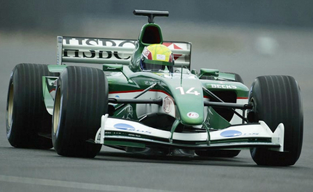 Jaguar R4 Mark Webber