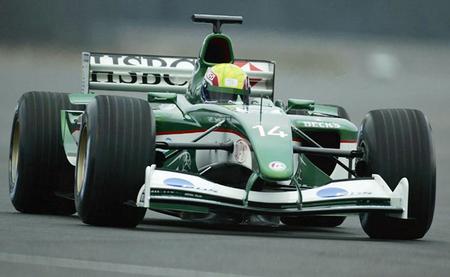 Jaguar R4 Mark Webber