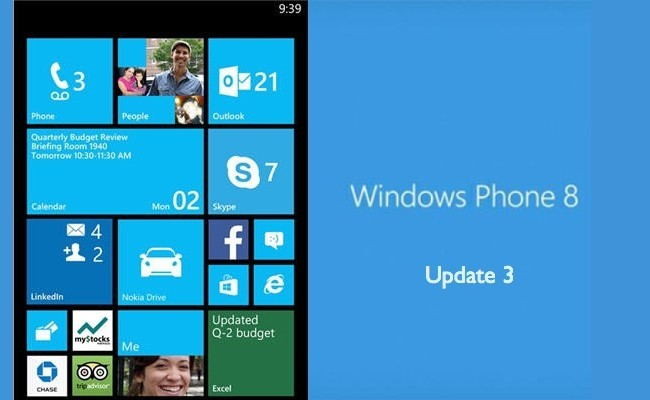 Windows Phone 8 ya está listo para pantallas más grandes con Update 3