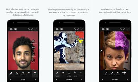 Photoshop Fix llega a Android: así el potente editor fotográfico de Adobe