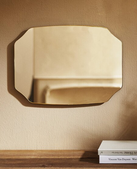 Espejo Perfil Metalico Fino