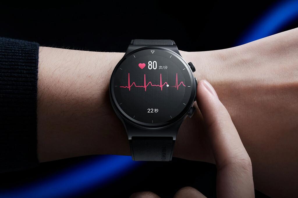Huawei Watch GT 2 Pro ECG: el primer smartwatch de Huawei con electrocardiograma